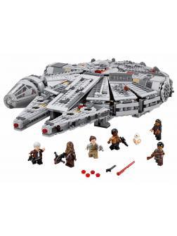 Конструктор Ll «Сокол Тысячелетия» 79211 (Star Wars 75105) / 1381 детали