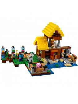 Конструктор Lp «Фермерский коттедж» 18039 (Minecraft 21144) / 615 деталей