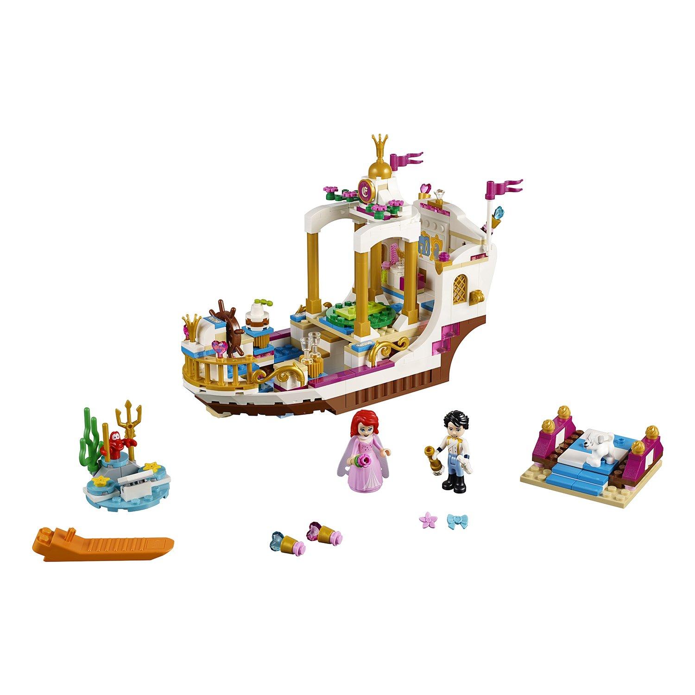 Конструктор Lp Fairytale «Королевский корабль Ариэль» 25013 (Disney Princess 41153) 425 деталей
