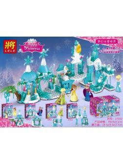 Конструктор Ll «Ледяной парк» 37052 (Disney Princesses) 4 шт.