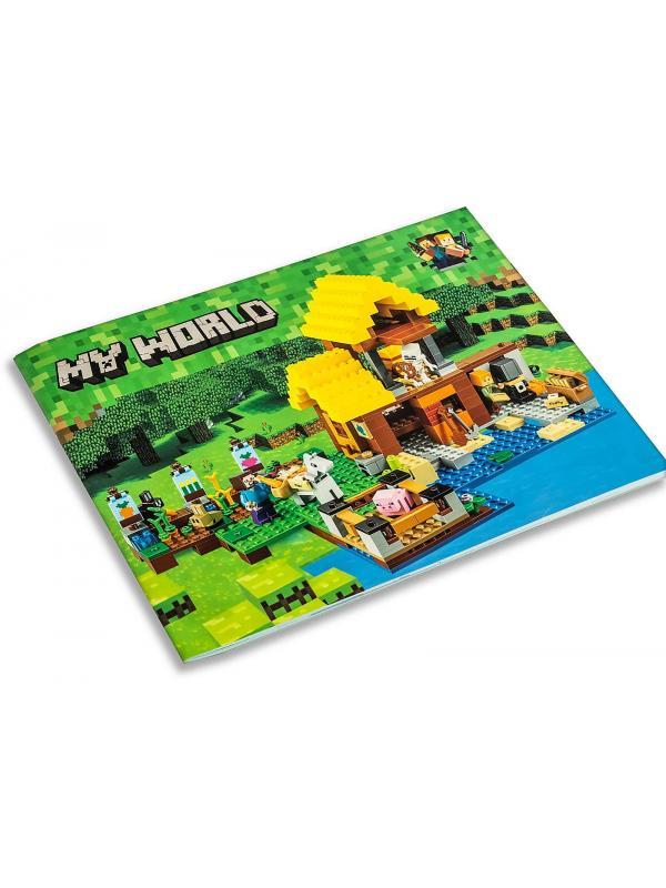 Конструктор Ll «Фермерский коттедж» 33150 (Minecraft 21144) / 560 деталей