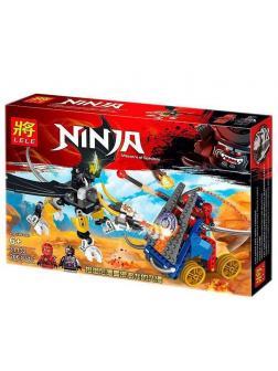 Конструктор Ll Ninja «Битва» 31132 (НиндзяГо) 206 деталей