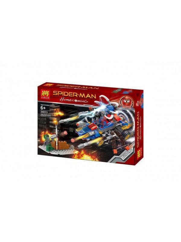 Конструктор Ll Super Heroes «Spider-Man» 34013 (Super Heroes) 2 шт