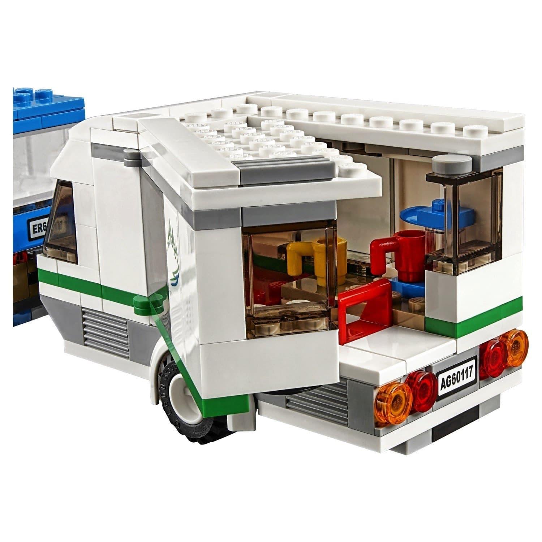 Конструктор Lp Сити «Фургон и дом на колесах» 02048 (City 60117) 270 деталей