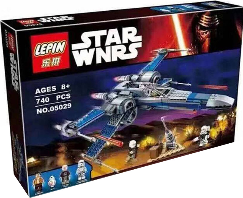 Конструктор Lp Star Plan «Истребитель X-Wing Сопротивления» 05029 (Star Wars 75149) 740 деталей