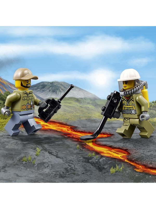 Конструктор Lp «Грузовик исследователей вулканов» 02002 (City 60121) 175 деталей