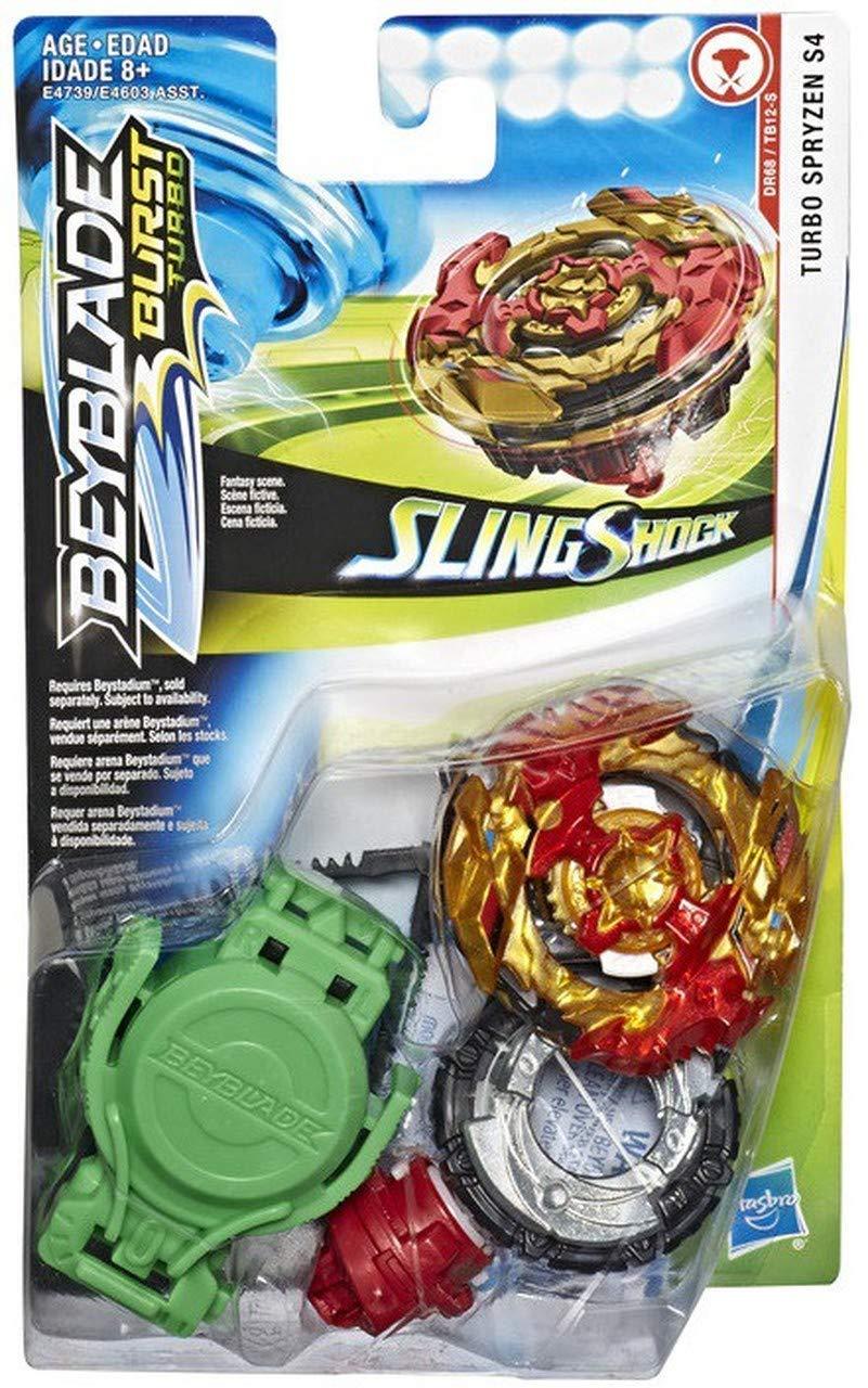 Волчок BEYBLADE Burst Турбо Спрайзен (Turbo Spryzen S4) B-128 от Hasbro с Запускателем