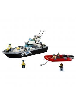 Конструктор Ll «Полицейский патрульный катер» 39056 (City 60129) 273 детали