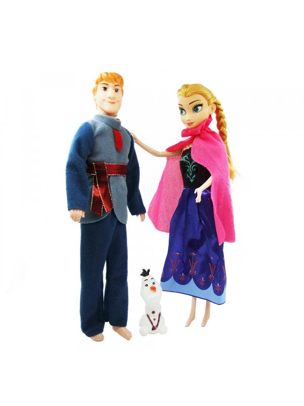 Куклы Холодное сердце «Анна, Кристофф и Олаф» Frozen 29 см