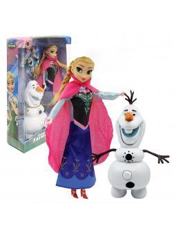 Кукла Холодное сердце «Анна и Олаф музыкальный» Frozen