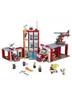 Конструктор Lp «Пожарная часть» 02052 (City 60110) 1029 деталей