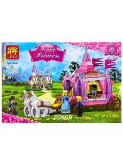 Конструктор Ll Happy Princess «Карета» 37049 (Disney Princesses) 351 деталь