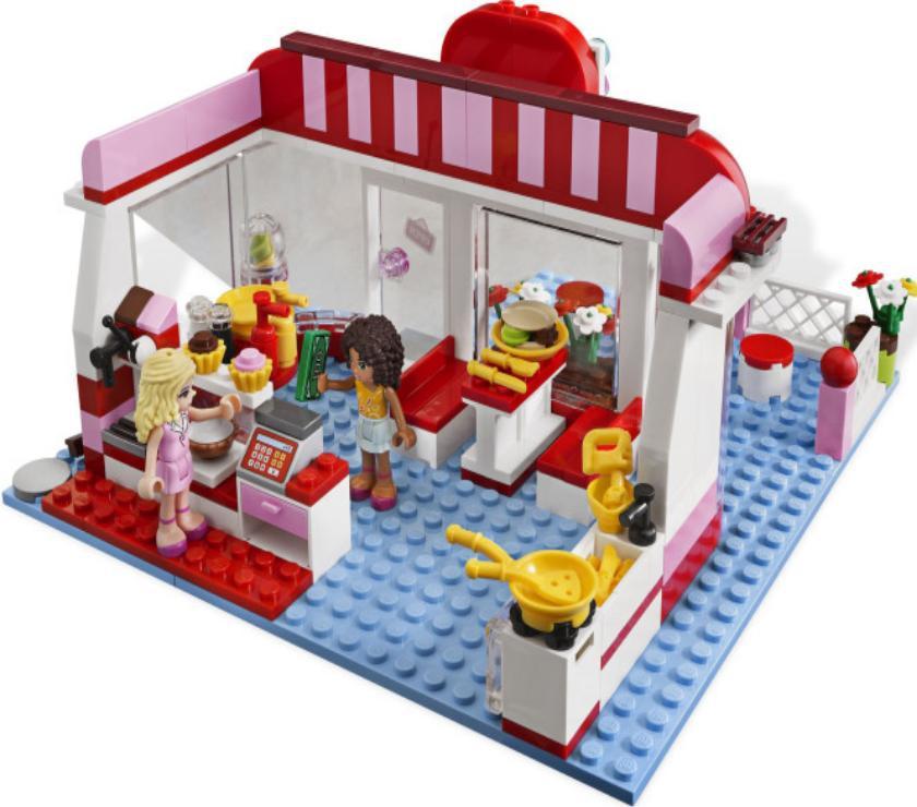 Конструктор «Кафе в городском парке» 10162 (Friends 3061) / 221 деталь