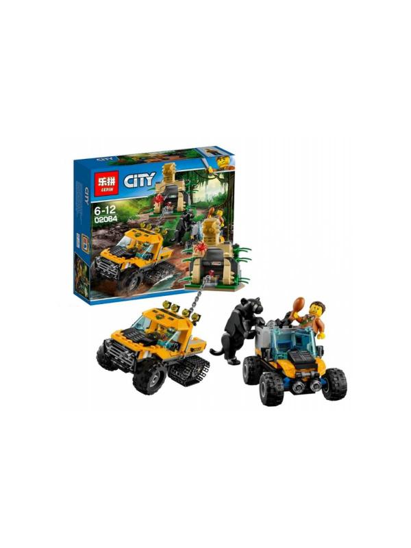 Конструктор Lp «Миссия исследование джунглей» 02064 (City 60159) / 404 детали