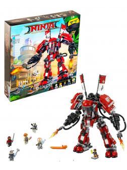 Конструктор Bl «Огненный робот Кая» 10720 (НиндзяГо 70615) / 980 деталей