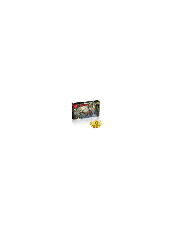 Конструктор Bl «Битва Гармадона и мастера Ву» 10715 (НиндзяГо 70608) 334 детали