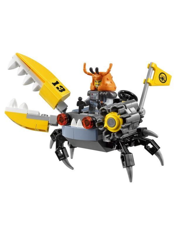 Конструктор Lp «Самолет-молния Джея» 06050 (НиндзяГо 70614) / 937 деталей