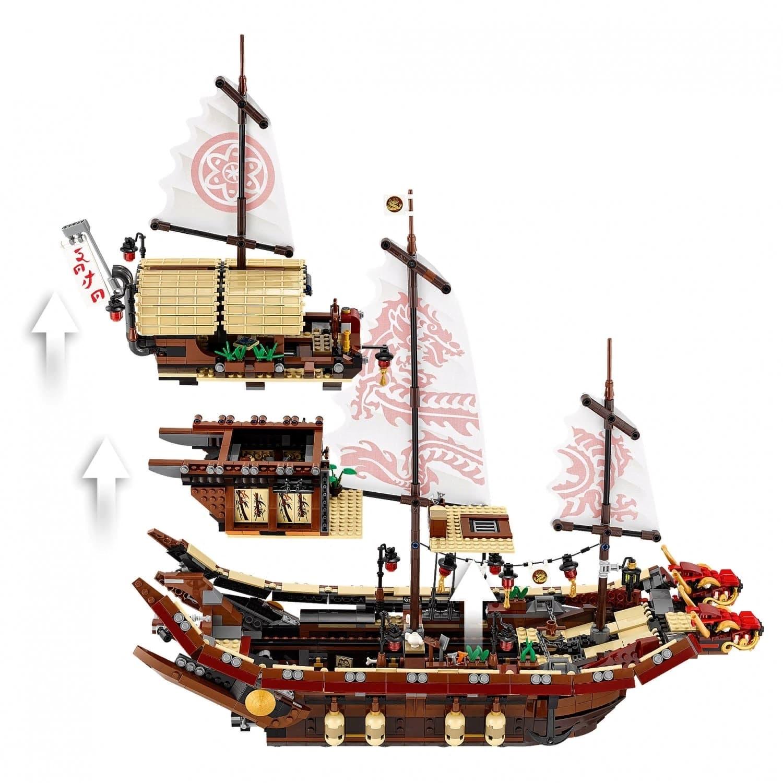 Конструктор Lp «Летающий корабль мастера Ву» 06057 (НиндзяГо Movie 70618) 2345 деталей