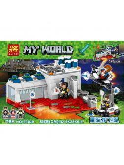 Конструктор Ll My World «Портал в будущее» 33030 (Minecraft) 328 деталей
