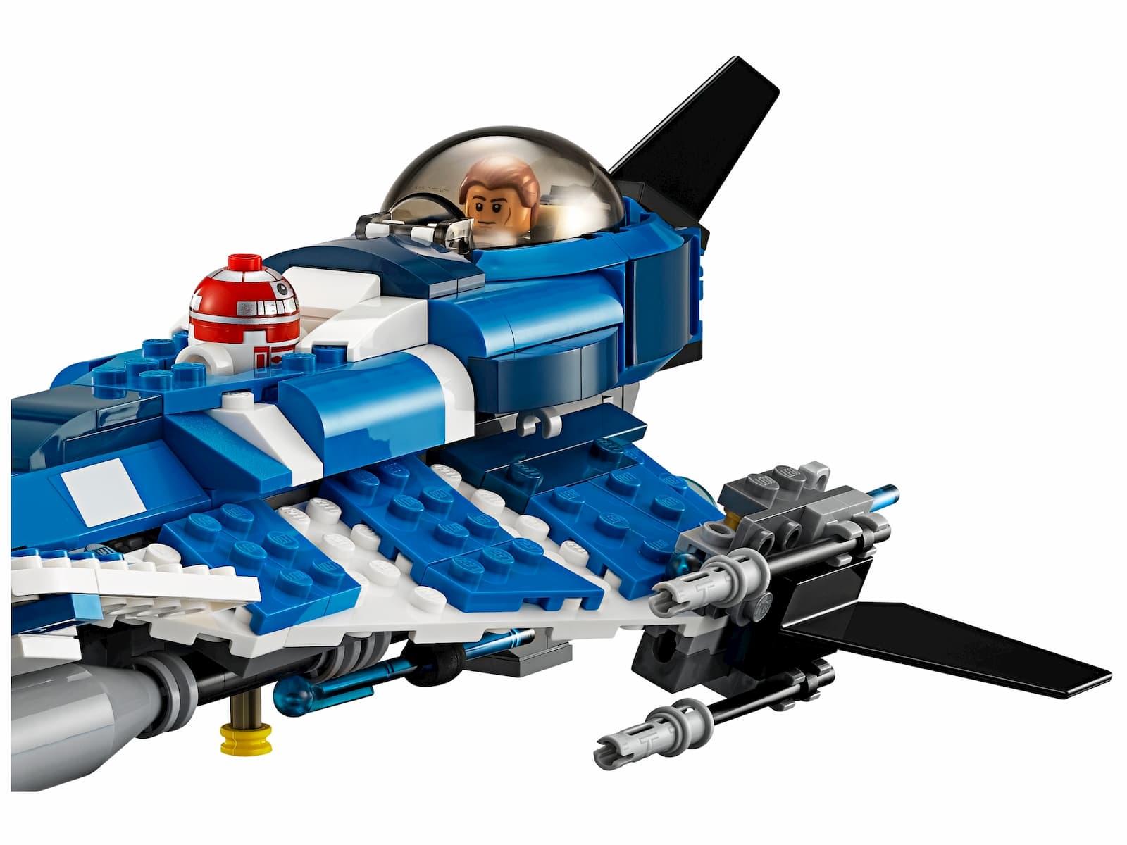 Конструктор Bl «Джедайский истребитель Энакина» 10375 (Star Wars 75087) / 369 деталей