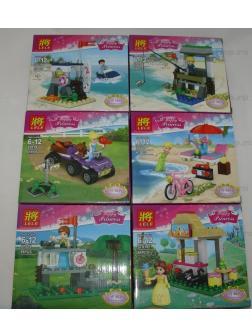 Конструктор Ll Happy Princess 37019 (Disney Princesses) 6 шт.