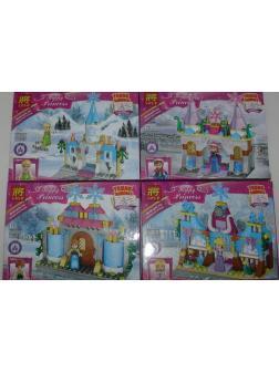 Конструктор Ll Happy Princess 37021 (Disney Princesses) 4 шт.