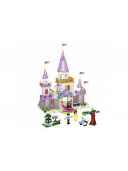 Конструктор Ll Happy Princess «Белль в гостях у Золушки» 37009 (Disney Princesses) 667 деталей
