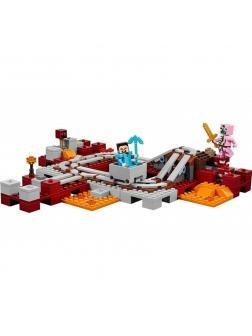 Конструктор Ll «Подземная железная дорога» 33054 (Minecraft 21130) / 402 детали