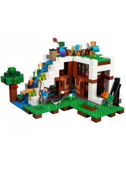 Конструктор Ll  «База на водопаде» 33052 (Minecraft 21134) / 744 детали