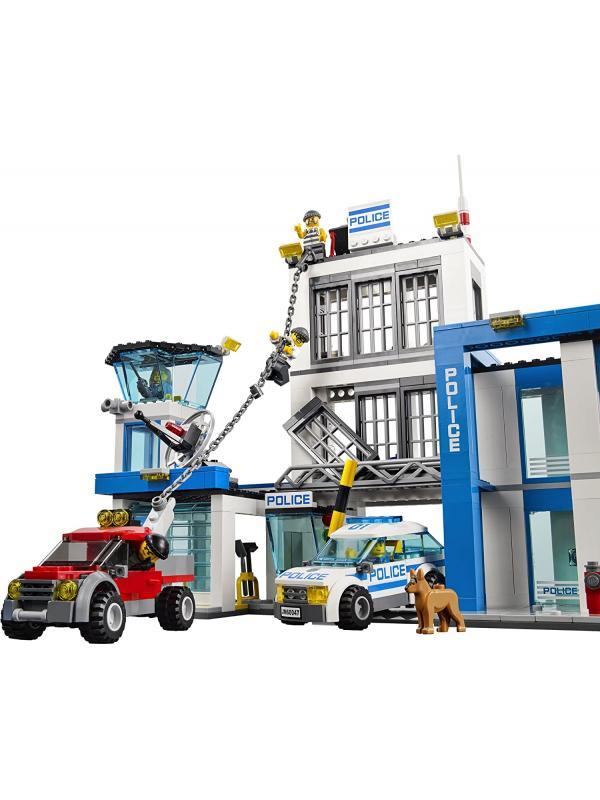 Конструктор «Полицейский участок» 10424 (City 60047) / 890 деталей