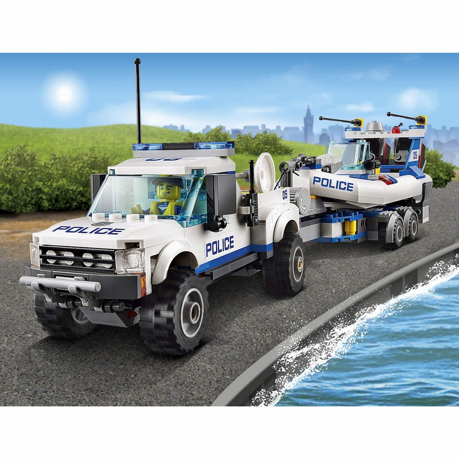 Конструктор Bl «Полицейский патруль» 10421 (City 60045) 409 деталей