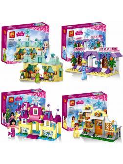 Конструкторы Ll Happy Princess 37004 (Disney Princesses) 4 шт.