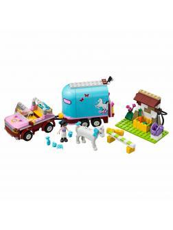 Конструктор Bl «Эмма и трейлер для её лошадки» 10161 ( Френдс 3186) 217 деталей