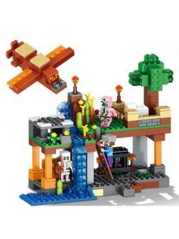 Конструктор Ll My World «Воздушная гавань» 79256 (Minecraft) 340 деталей