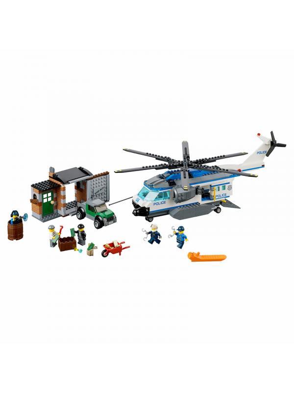 Конструктор Bl «Вертолётный патруль» 10423 (City 60046) 528 деталей