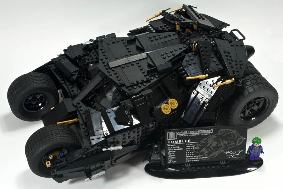 Конструктор Ll Thumber «Gathering Batman» 34005 (Super Heroes