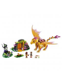 Конструктор Bl Elves «Лавовая пещера дракона огня» 10503 (Elves 41175) 446 деталей