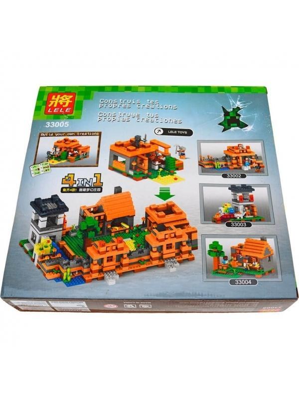 Конструктор Ll My World «Крепость» 33005 (Minecraft) 253 детали