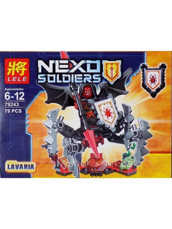 Конструкторы Ll Nexo Soldiers 79243 (Нексо Найтс) 6 шт.