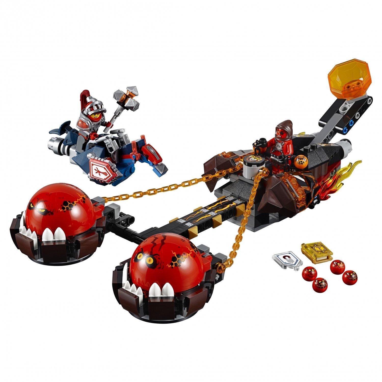 Конструктор S «Безумная колесница укротителя» SY562 (Нексо Найтс 70314) 334 детали