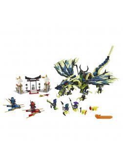 Конструктор SY «Атака дракона Морро» SY548 (НиндзяГо 70736) / 288 деталей