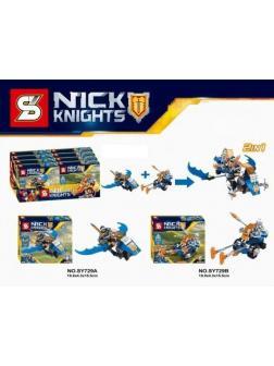 Конструкторы S Nick Knights SY729ABCD (Нексо Найтс) 2 шт.
