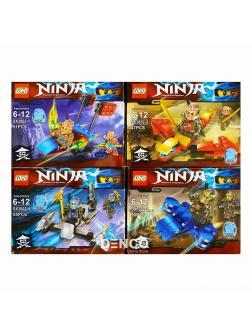 Конструкторы LOHO Ninja SX3002 (НиндзяГо) 4 шт.