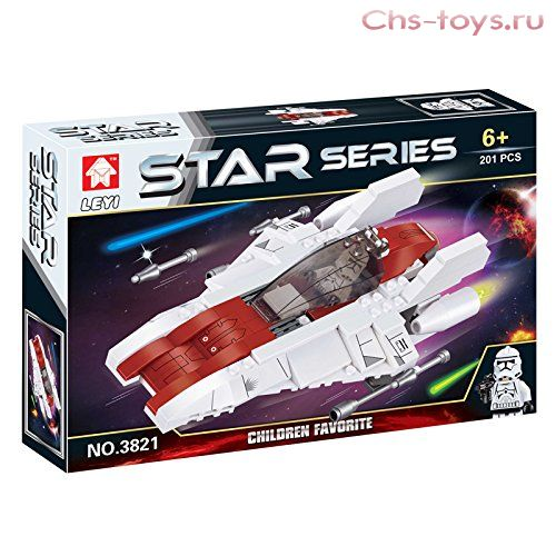 Конструктор STAR SERIES «Космический звездолет» 3821 (Star Wars) 201 деталь