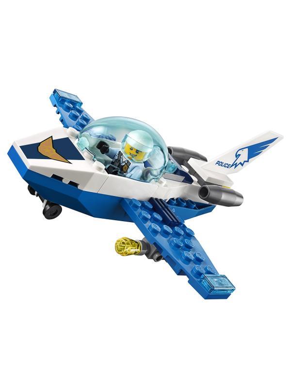 Конструктор Lari «Воздушная полиция: патрульный самолёт» 11205 (City 60206) / 66 деталей
