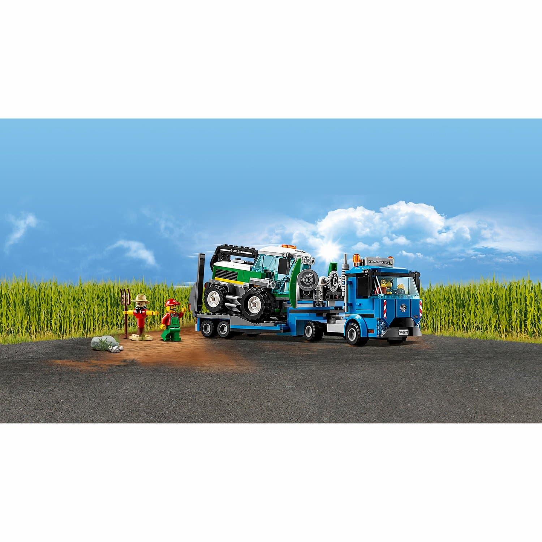 Конструктор Lari «Транспортировщик для комбайнов» 11223 (City 60223) / 370 деталей