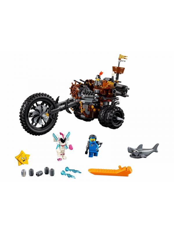 Конструктор Lari «Хеви-метал мотоцикл Железной бороды» 11247 (The Movie 2 70834) / 470 деталей