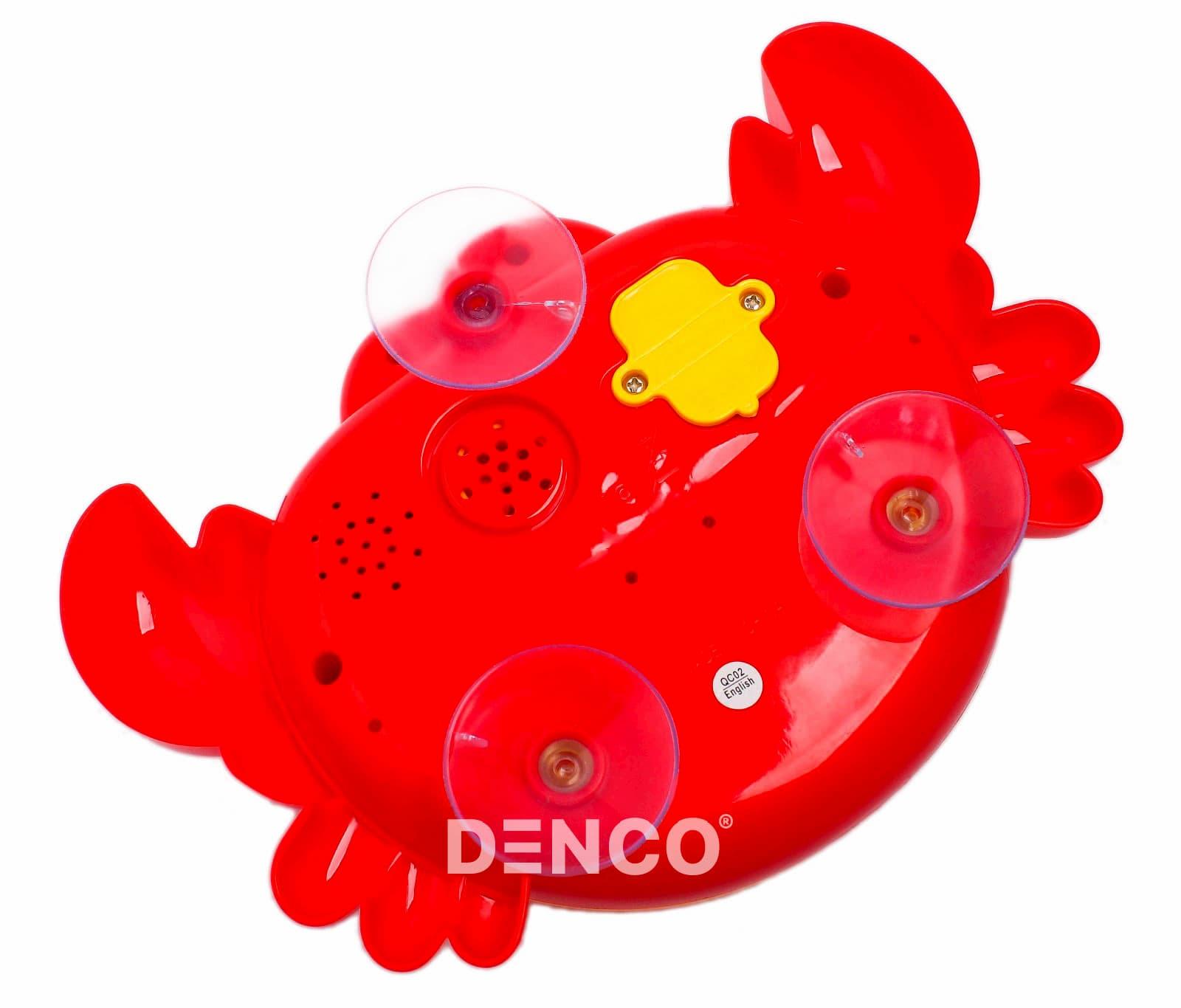 Игрушка для ванной «Bubble Crab / Пенный краб» / Красный