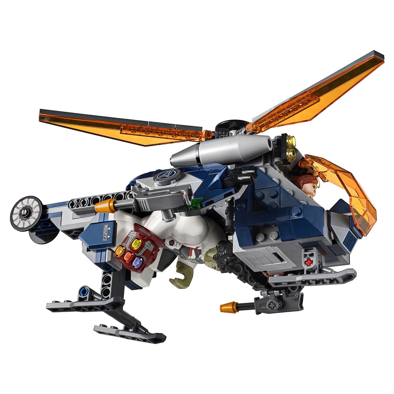 Конструктор PRCK «Мстители: Спасение Халка на вертолёте» 64041 (Super Heroes 76144) / 339 деталей