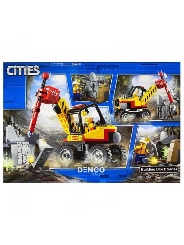 Конструктор Lari «Трактор для горных работ» 10874 (Совместимый с ЛЕГО City 60185) 132 детали